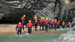 Canyoning-Riserva Naturale Orientata Bosco di Malabotta-Body rafting in the Alcantara Gorges, Sicily-5