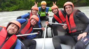 Rafting-Imst-Action Rafting auf der Inn, Österreich-5