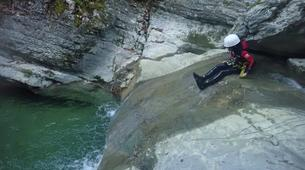 Canyoning-Annecy-Canyon d'Angon à Talloires, près d'Annecy-6