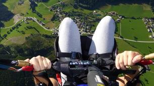Parapente-Salzbourg-Tandem Paragliding flight over Werfenweng-3