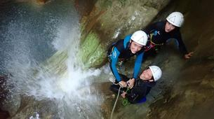 Canyoning-Annecy-Canyon du Pont du Diable, Bellecombes-en-Bauges-3