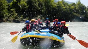 Rafting-Imst-Action Rafting auf der Inn, Österreich-1