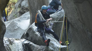 Canyoning-Pyrénées Orientales-Canyoning dans les Gorges du Cady-2