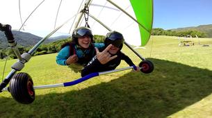 Hang gliding-Lake Garda-Tandem Hang Gliding Flight over Lake Garda-4