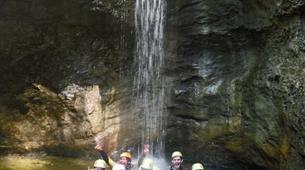 Canyoning-Salzburg-Canyoning Tour at the Almbachklamm near Salzburg-3