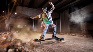 Skateboarding-Annecy-Randonnée skate électrique sur les bords du lac d'Annecy-3