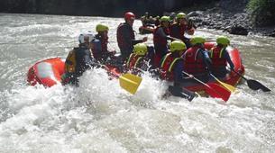 Rafting-Salzbourg-Fun Rafting on the river Salzach in Schwarzach near Salzburg, Austria-7