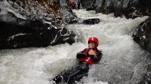 Canyoning-Riserva Naturale Orientata Bosco di Malabotta-Body rafting in the Alcantara Gorges, Sicily-6