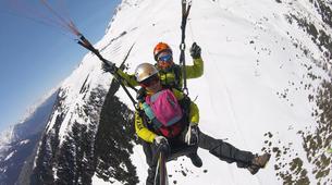 Parapente-Zermatt-Tandem paragliding flight in Zermatt with a Matterhorn view-4
