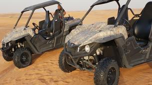Quad biking-Dubai-Sunset Dune Buggy & Sand Boarding Package in Dubai-5