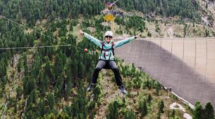 Zipline-Zillertal-Flying Fox Zipline entlang des Schlegeis Damms-6
