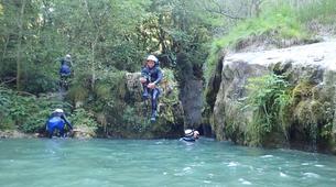 Canyoning-Annecy-Canyon du Pont du Diable, Bellecombes-en-Bauges-2