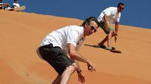 Quad biking-Dubai-Sunset Dune Buggy & Sand Boarding Package in Dubai-6