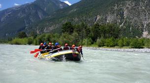Rafting-Imst-Action Rafting auf der Inn, Österreich-6