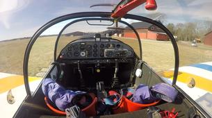 Aerobatics-Uppsala-Introductory Flight over Uppsala, Sweden-4