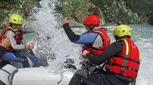 Rafting-Salzbourg-Fun Rafting on the river Salzach in Schwarzach near Salzburg, Austria-5