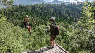Zip-Lining-Bled-Zipline in the Valley of Dolinka River, near Bled-1