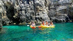 Kayak de mer-Kamenjak-Sea kayaking adventure through the caves of Cape Kamenjak, Croatia-3