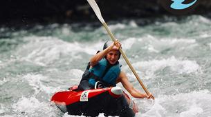 Canoë-kayak-Hautes-Pyrénées-Descente de Kayak sur le Gave de Pau, Hautes Pyrénées-5