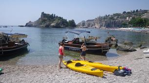 Sea Kayaking-Taormina-Guided Kayak Tour along the Taormina Coast-4