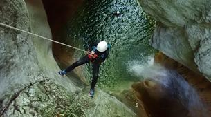 Canyoning-Annecy-Canyon du Pont du Diable, Bellecombes-en-Bauges-1