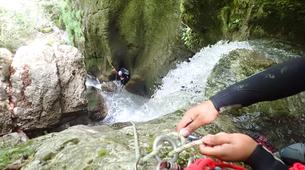 Canyoning-Annecy-Le canyon de la Mine près d'Annecy-3