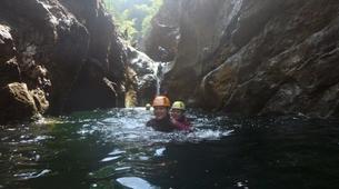 Canyoning-Salzburg-Canyoning Tour at the Almbachklamm near Salzburg-5