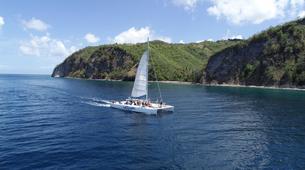 Sailing-Gros Islet-Land & Sea Island Tour in St. Lucia-3