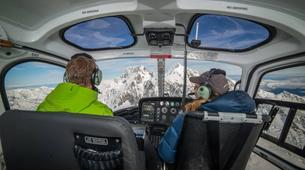 Helicopter tours-Aoraki / Mount Cook-Helicopter Flight in the Ben Ohau Mountain Range-2