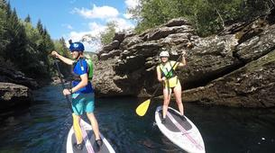 Stand Up Paddle-Voss-Stand Up Paddle River Tour in Voss-4