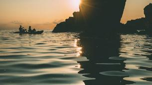 Sea Kayaking-Kamenjak-Sea kayaking Sunset Adventure in Cape Kamenjak, Croatia-5