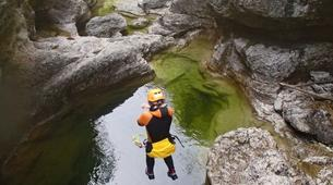 Canyoning-Salzburg-Canyoning Tour at the Almbachklamm near Salzburg-1