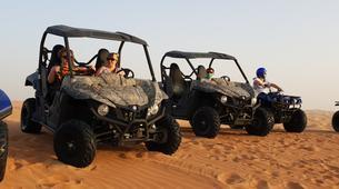 Quad biking-Dubai-Sunset Dune Buggy & Sand Boarding Package in Dubai-1