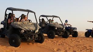 Quad biking-Dubai-Sunset Dune Buggy & Sand Boarding Package in Dubai-4