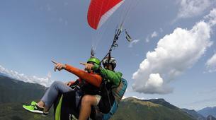 Paragliding-Lake Garda-Tandem Paragliding over Lake Garda-2