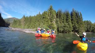 Kayaking-Voss-Tandem River Kayaking in Voss-1