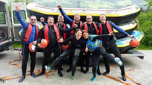 Rafting-Imst-Action Rafting auf der Inn, Österreich-7