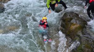 Canyoning-Alagna Valsesia-Intermediate Canyoning in Rio Laghetto Canyon near Alagna Valsesia, Aosta Valley-3
