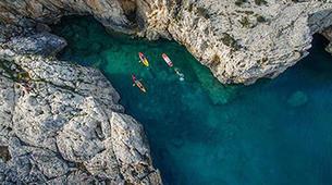 Kayak de mer-Kamenjak-Sea kayaking adventure through the caves of Cape Kamenjak, Croatia-4
