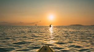 Sea Kayaking-Kamenjak-Sea kayaking Sunset Adventure in Cape Kamenjak, Croatia-6