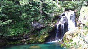 Mountain bike-Bled-E-bike trip in Vintgar Gorge and Lake Bled, Slovenia-6