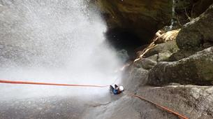 Canyoning-Annecy-Canyon d'Angon à Talloires, près d'Annecy-1