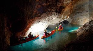 Canoë-kayak-Bled-Underground Black Hole Kayaking Experience from Bled, Slovenia-3