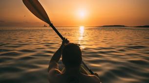Sea Kayaking-Kamenjak-Sea kayaking Sunset Adventure in Cape Kamenjak, Croatia-2