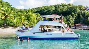 Sailing-Gros Islet-Land & Sea Island Tour in St. Lucia-1