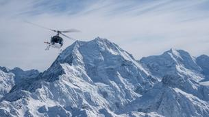 Helicopter tours-Aoraki / Mount Cook-Helicopter Flight in the Ben Ohau Mountain Range-1