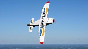 Aerobatics-Uppsala-Introductory Flight over Uppsala, Sweden-1