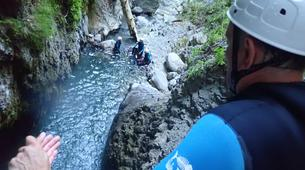 Canyoning-Annecy-Canyon de Montmin, près d'Annecy-2