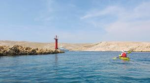 Kayak de mer-Rab-4-day Kayaking Trip around Rab Island-5
