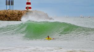 Surf-Vilamoura-Surfing Lessons on Falesia Beach in the Algarve-6
